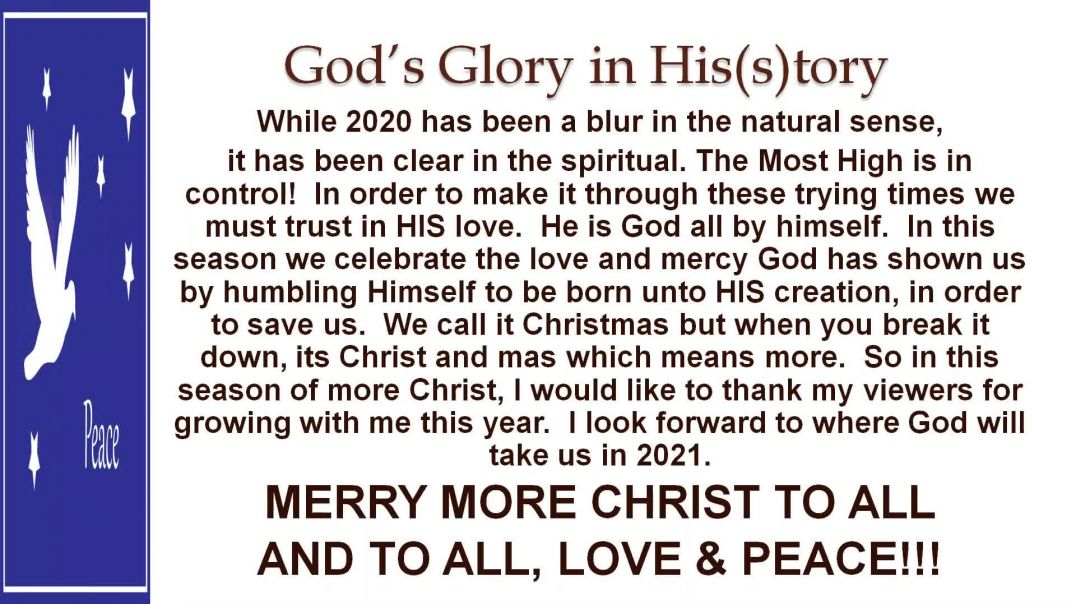 More CHRIST to All