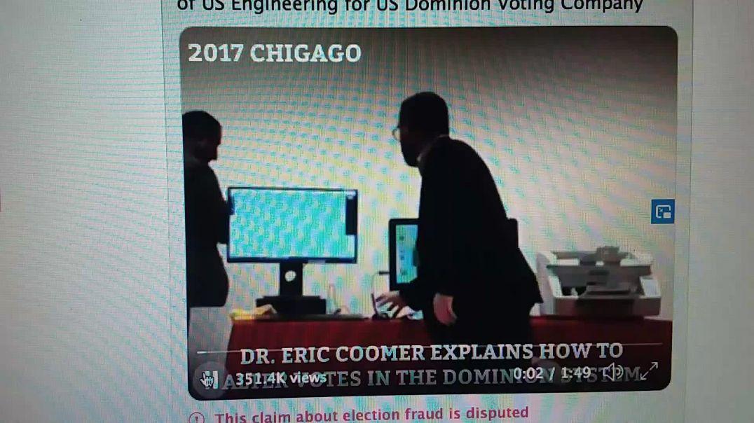 Video proof of Voting machine vulnerabilities.
